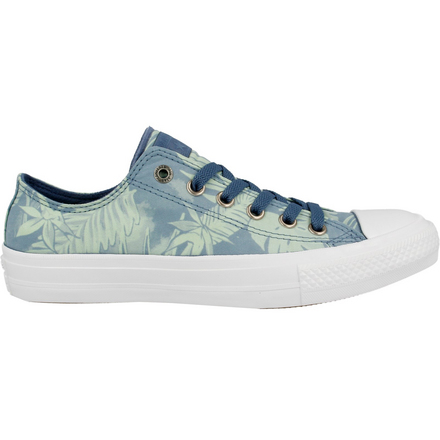 17SS2LOW-555984C Chuck II OX W Blue Coast Jaded Wht