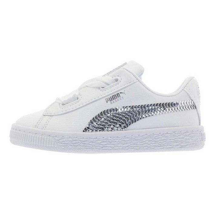 366849-02 Basket Heart Bling Inf Puma