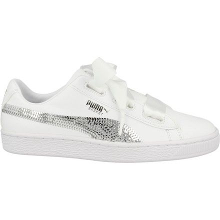 366847-02 Basket Heart Bling Jr Puma