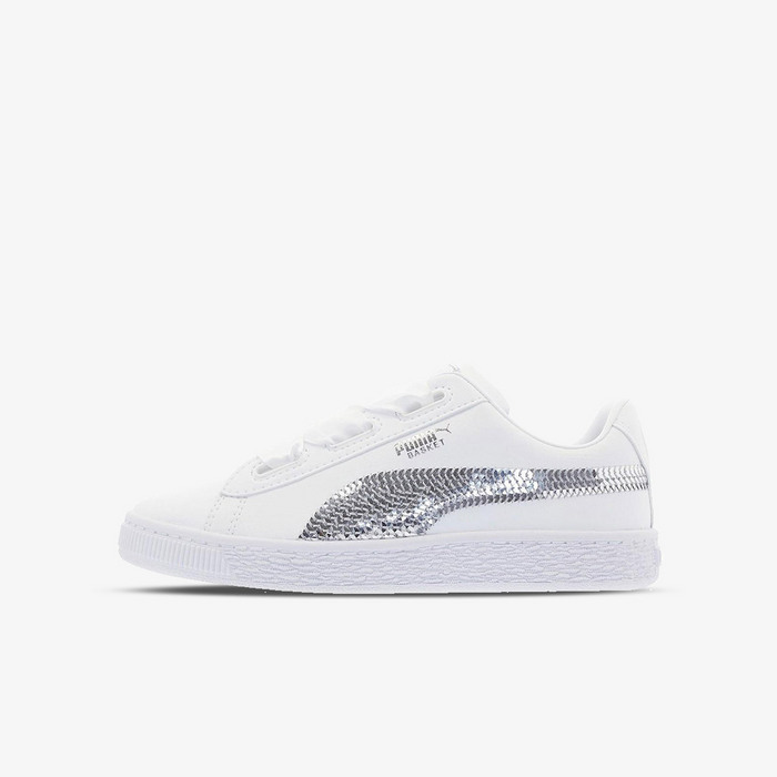 366848-02 Basket Heart Bling PS Puma