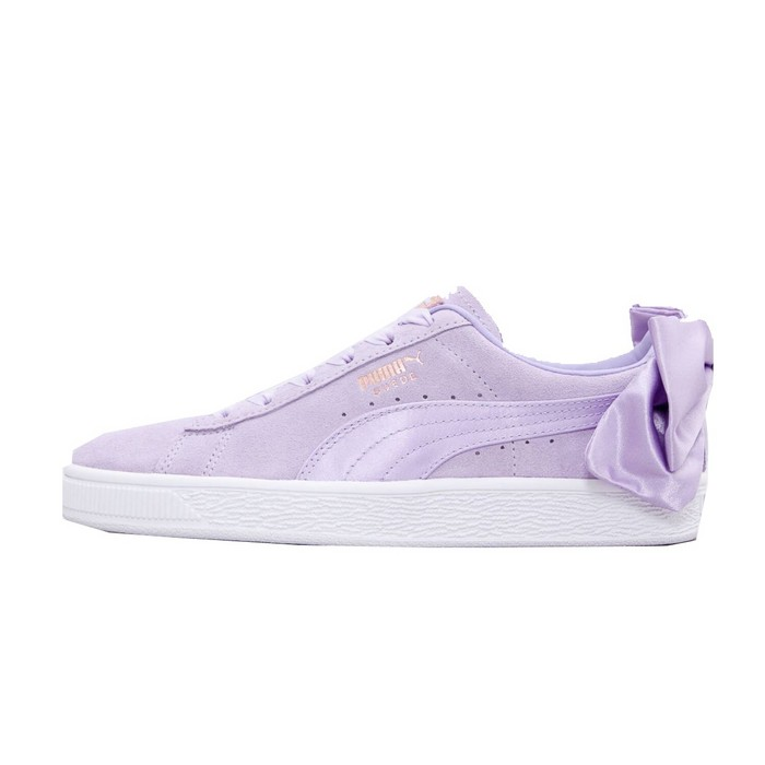 367316-03 jr Suede Bow Puma