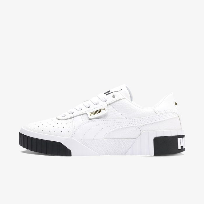 Cali Wn s Puma White-Puma Black
