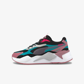RS-X3 City Attack Jr Puma Black-Viridian