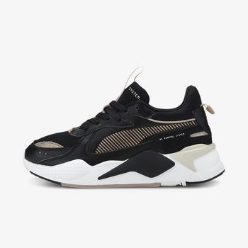 "RS-X Mono Metal Wn""s Puma Black-Rose Gol"